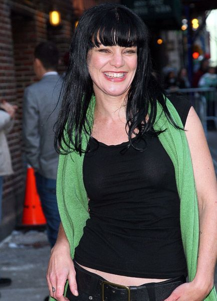Pauley perrette see through