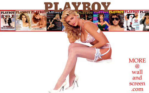 Playboy Covers Eighties