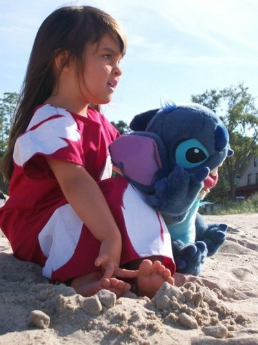 Real Life Lilo - lilo-and-stitch Photo