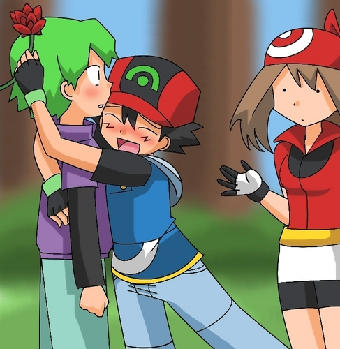 Respectshipping! - pokemon Fan Art