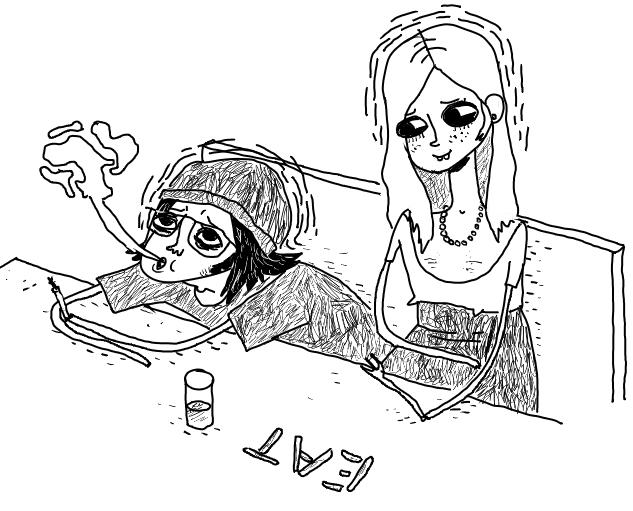 Sid/Cassie fan Art
