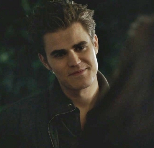 Stefan Face When Caroline Is Happy