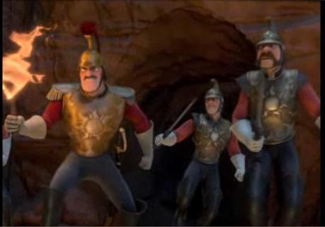 Рапунцель - Запутанная история guards