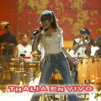 Thalia wallpaper with a concert and a drummer entitled Thalia