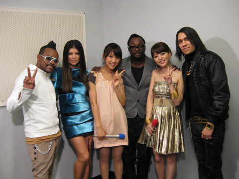 The Black Eyed Peas & alan!!!