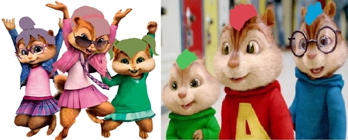 The Chipmunks meet The Chippettes