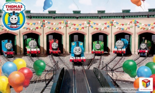 The Engines at Tidmouth Sheds