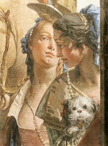 The Entourage of Cleopatra