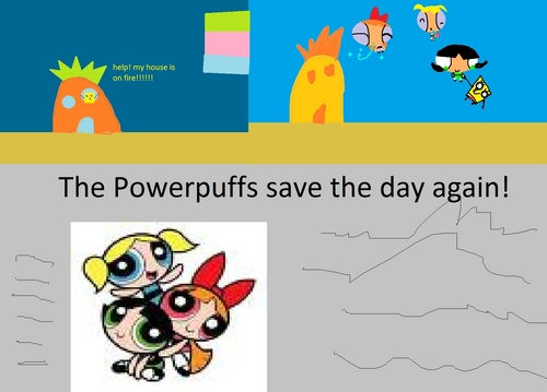 The Powerpuff Girls Save Spongebob