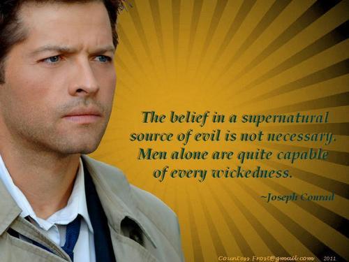 The belief...