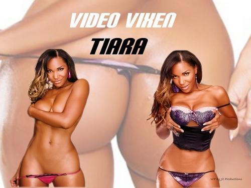 Tiara, Video Vixen, model and Super Sexy
