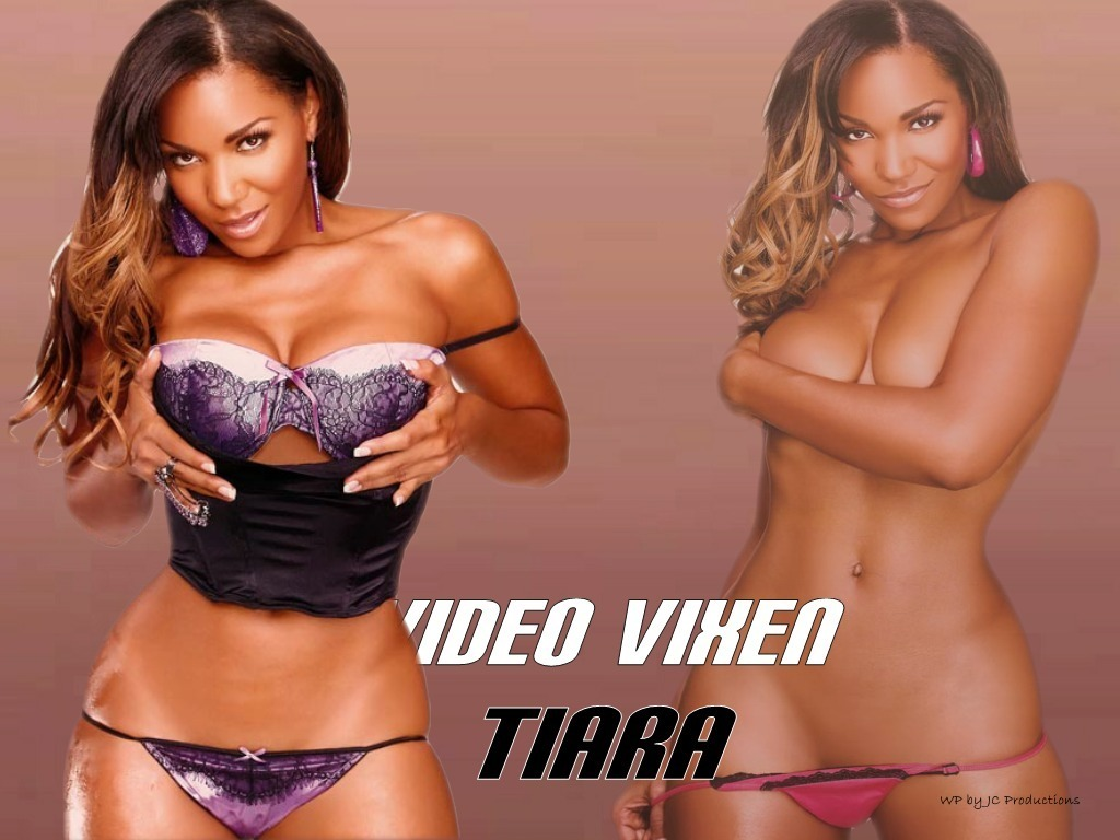 Tiara, Video Vixen, model and Super Sexy
