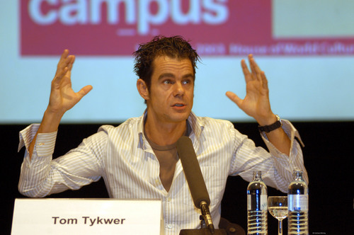 Tom tykwer at campus Berlinale2003