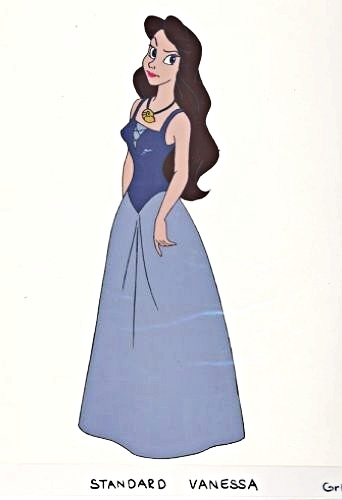 "Vanessa from ""The Little Mermaid"" Обои entitled Vanessa - Production Cel"