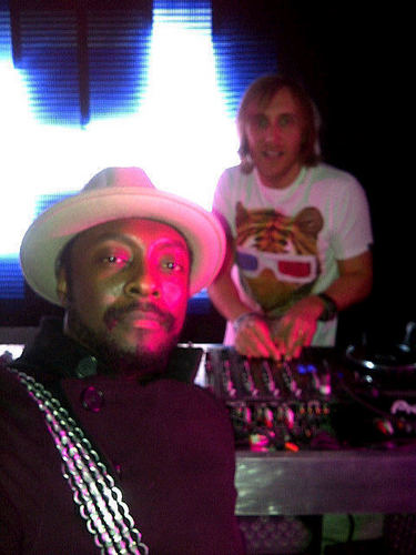 Will.i.am with David Guetta