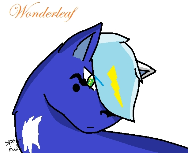Wonderleaf, warrior of GoldClan