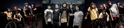 Bring Me The Horizon karatasi la kupamba ukuta called bring me the horizon signature <3