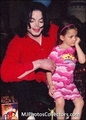 daddymichael&littleparis - michael-jackson photo