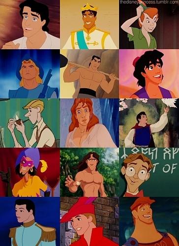 Disney Couples wallpaper titled disney guys