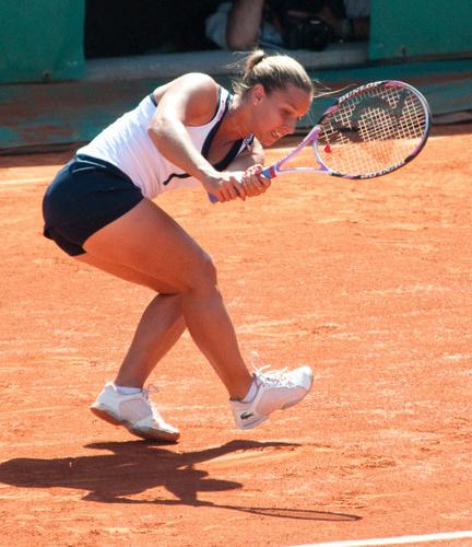 dominika cibulkova muscular legs..