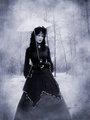 elegant goth girl