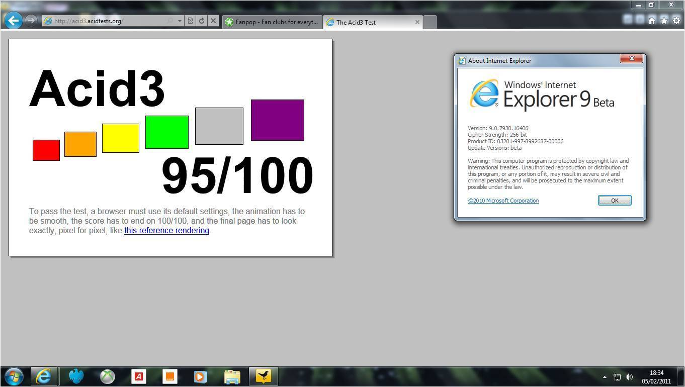 Ie9 background image - Internet Explorer Images Ie9 Beta Acid 3 Results Hd Wallpaper And Background Photos