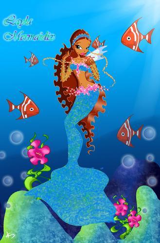 winx club layla images layla beautiful mermaid hd