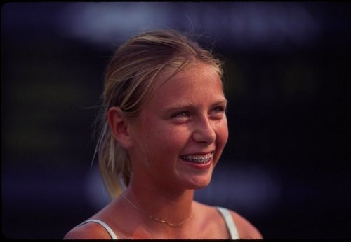 maria sharapova wallpaper with a portrait entitled maria as childhood