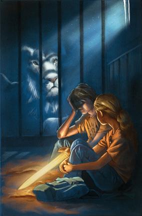 poor lion...