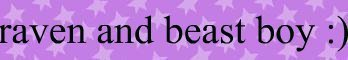 raven and beast boy banner (made দ্বারা me CUTEDXC)