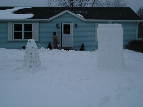 snow dalek and tardis