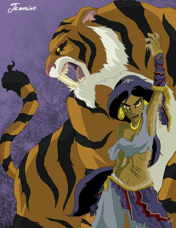 Et si les Disney étaient des films d'horreur ? (Attention âmes sensibles s'abstenir !) Twisted-jasmine-disney-couples-19030859-600-776