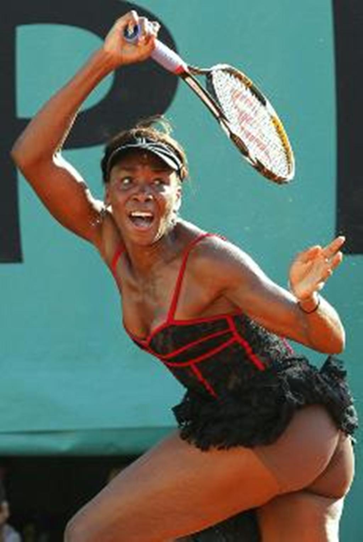 Tennis venus naked.-,.
