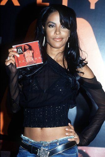'AALIYAH' album signing at FYE Music