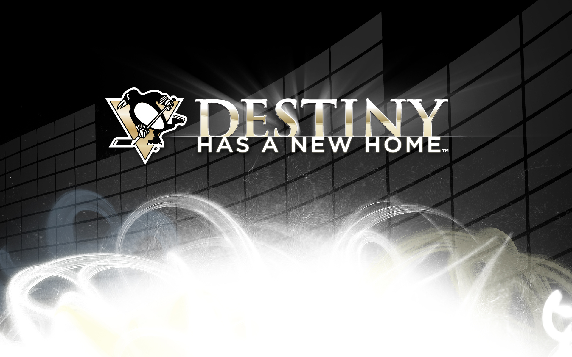 39 destiny has a new home 39 pittsburgh penguins wallpaper for Wallpaper new home