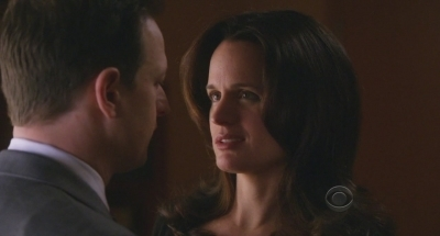 Elizabeth Reaser wallpaper containing a portrait titled 'The Good Wife' screencaps - 2x13: 'Real Deal'.