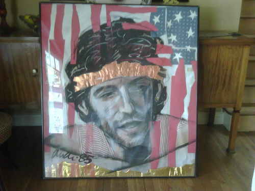 )riginal Springsteen Art Pastiche sa pamamagitan ng artist Richard Andri