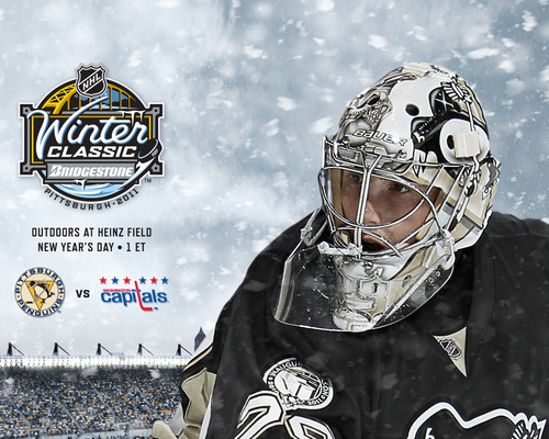 2011 Winter Classic - Marc-Andre Fleury