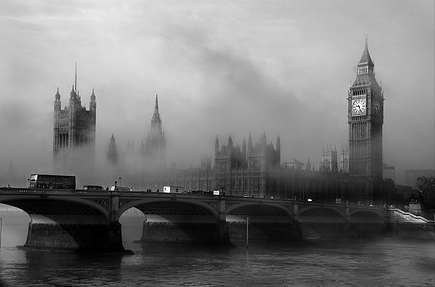 A Foggy Day In London  - kraucik83 Photo