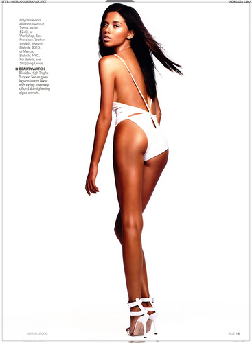 adriana lima wallpaper entitled Adriana [Elle Portugal 2003]
