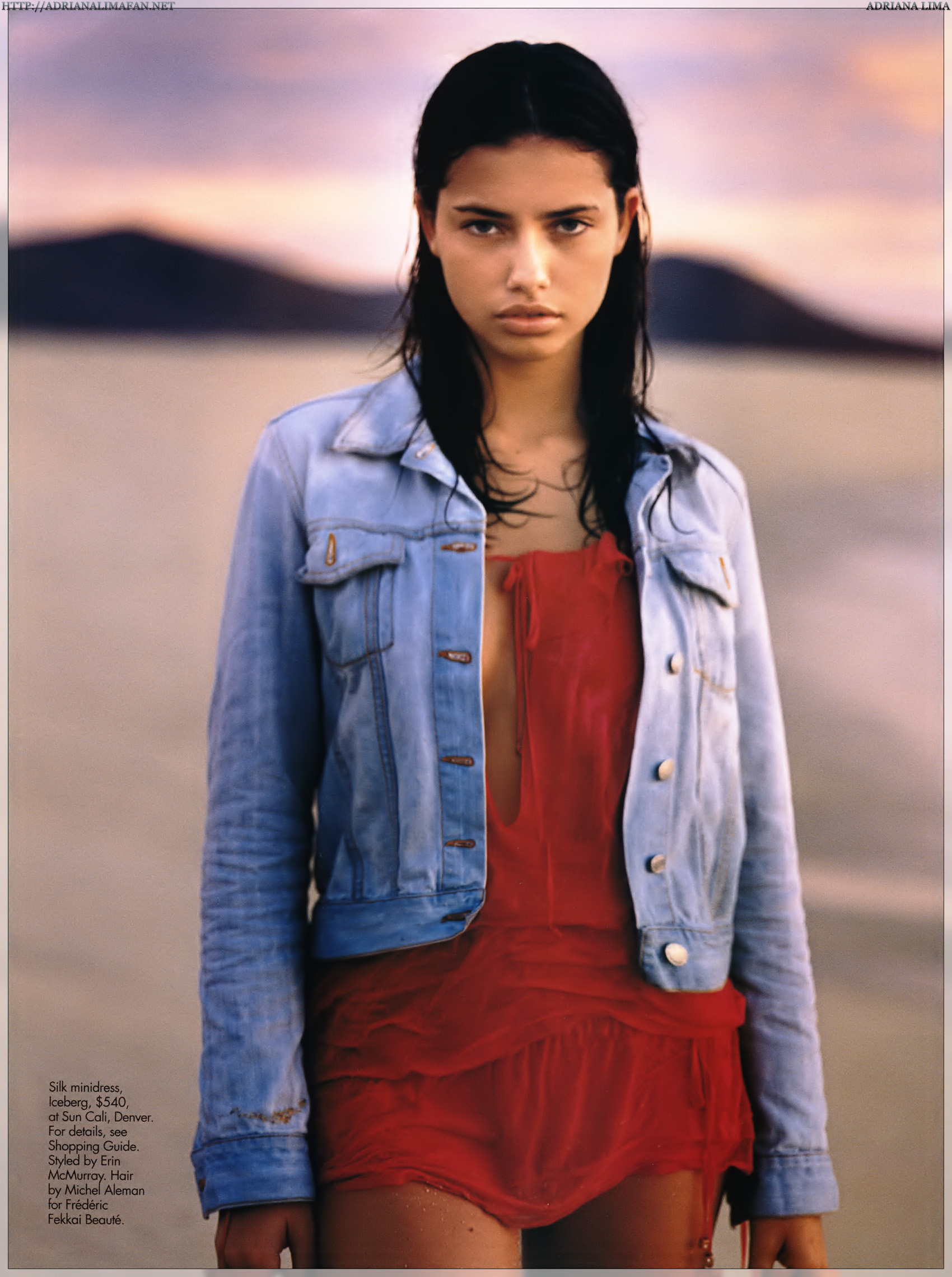 Young Adriana Lima. 💓 shared by ali on We Heart It