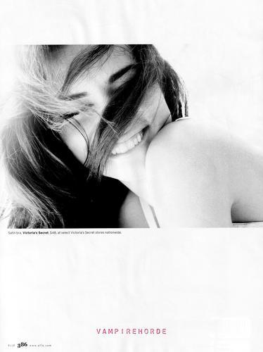 Adriana [Elle US 2009]