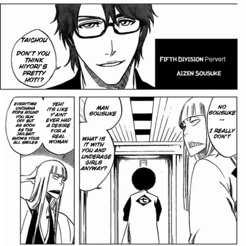 Aizen Thinks Hiyori's Hot