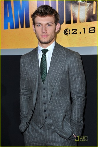 Alex Pettyfer at the premiere of I Am Number Four