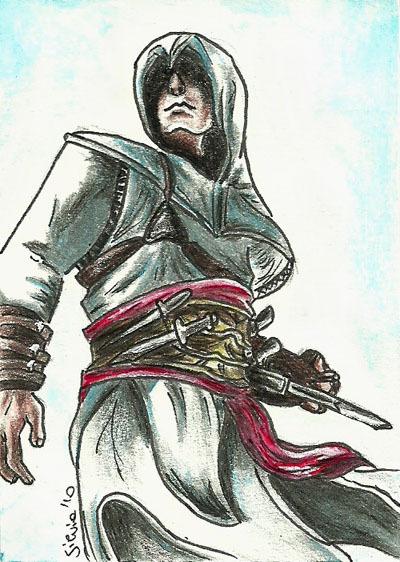 Altaïr Ibn-La'Ahad hình nền containing a breastplate entitled Altair