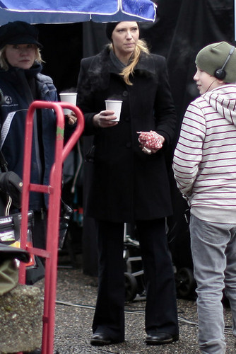 Anna On The Set Of Fringe In Vancouver