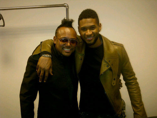 Apl.de with usher