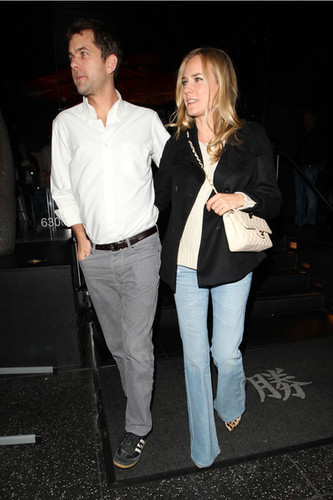 At Katsuya with Diane Kruger