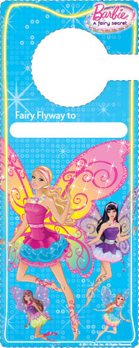 Barbie: A Fairy Secret - door hanger