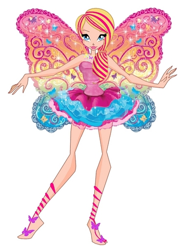 Barbie Movies wallpaper entitled Barbie FS az Winx Club